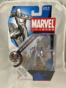 Marvel Universe 3.75 Series 1 #3 Silver Surfer