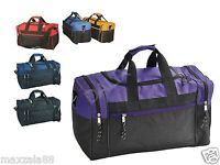 "20 Duffle Bag Bags Travel Size Sports Gym Vacation Blank 17"" Wholesale Bulk Lot"