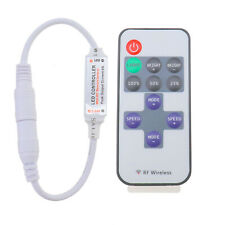 Controller Inline Dimmer With RF Wireless Remote for LED Strip Light Mini 12V