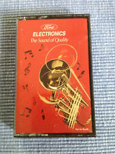 1995 FORD ELECTRONICS THE SOUND OF QUALITY CASSETTE