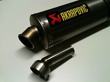 chicane amovible db killer adaptable de diamétre 53mm pour pot akrapovic