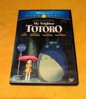 My Neighbor Totoro (DVD) Studio Ghibli Region 1 special 2 disc Dakota Fanning