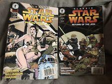 1990s Star Wars Dark Horse Comics, Return Of The Jedi 1&2