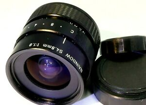 C-mount Wide-Angle lens (RAINBOW S 4.8mm F1.8) #T01-J552-002 adapt to M4/3
