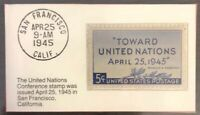 1945 Five Cent Stamp Toward United Nations GMA GEM MT 10