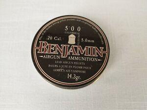 Benjamin .20 Caliber Pellets for Air Rifles