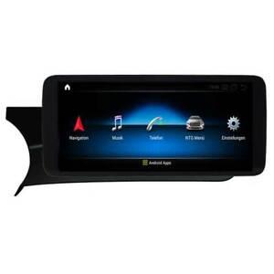 "Android 10 Display f Mercedes Benz C W204 NTG 4 4.x Bluetooth USB Navi 10.25"""