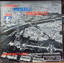JOSEPHINE BAKER PARIS! PARIS! PARIS! TOUR EIFFEL COVER FRENCH LP
