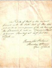 Prince Edward Augustus Duke of Kent & Strathearn Autograph Handwritten Letter
