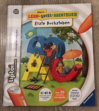 tiptoi Buch - Mein Lern-Spiel-Abenteuer Erste Buchstaben - gebraucht