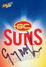 ✺Signed✺ 2012 GOLD COAST SUNS AFL Card GUY MCKENNA