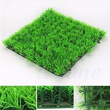 23*23cm Artificial Fake Water Aquatic Green Grass Plant Lawn Fish Tank Decor EPS