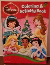 Disney Princess Coloring  & Activity Christmas 288 pages New 2013