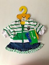 BUILD A BEAR GIRL SCOUTS THIN MINT COOKIES HOODIE &  SKIRT OUTFIT