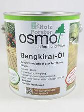 Osmo 11500013 Bangkirai-Öl Naturgetönt 2,5 l