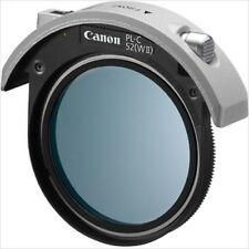 F/S NEW Canon camera for drop-in circular polarizing filters PL-C 52 (WII) Japan