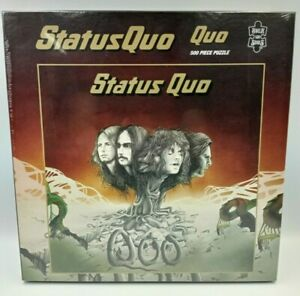 Puzzle collector StatusQuo 500 Pièces Rock Saws Neuf Sous Blister