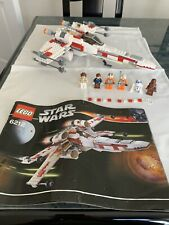 Lego Star Wars X Ala 6212. 100% completo con manual de instrucciones (notas de lectura)