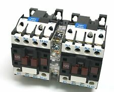 C-12D10R Reversing Motor Contactor 10HP 440V Electrical Mechanical Interlock NEW