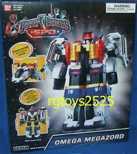 Power Rangers SPD Deluxe OMEGA Megazord New Factory Sealed 2004