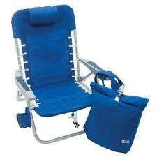 New listing Beach Foldable Recliner Backpack Chair Adjustable Outdoor Durable Patio Padded