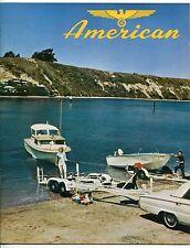 "Vintage Sales Catalog: AMERICAN ""Long Haul Boat Trailers & Accessories"""