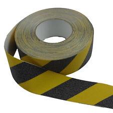 Cinta Antideslizante Advertencia Amarillo Negro Adhesiva 50mm X 18m Safety-Tape
