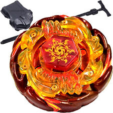 Sol (Solar) Blaze V145AS Ultimate-Type Beyblade STARTER SET w Launcher & Ripcord