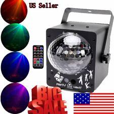 60 Patterns Stage Lighting Rgb Led Laser Projector Light Dj Disco Ball Xmas Us