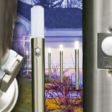 Lampada da Terra Esterno Lampioncino Giardino con Presa Schuko e Sensore 142253