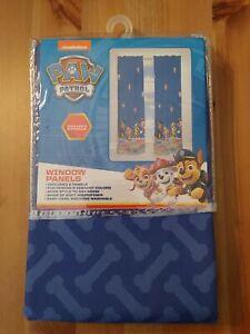 "NEW Nickelodeon Paw Patrol MicroFiber Window Curtain Panels (2 Panels) 82"" X 63"""