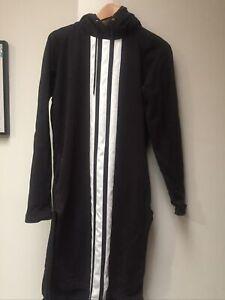 Y - 3 Yohji Yamamoto Adidas Long Hoodie Sweat Dress / Top  S
