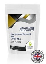 Manganese Gluconate 122mg Tablets Manganese Element 14mg Pills