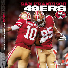 Nfl Calendar 2021 San Francisco 49ers Wall Calendar 30x30 Calendar Football