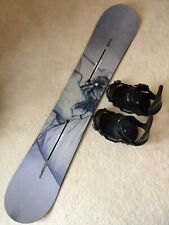 New listing Rare Burton Custom Twin 160 Snowboard hardly used, Burton EST Bindings & new bag