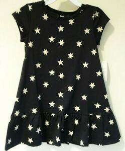 NWT Tea Collection Ruffle Hem Stars Dress Girl's Size 5