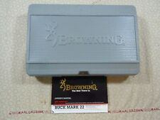 Browning Buckmark Factory Hard Case With Manual.