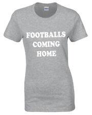 Balones de Fútbol Llegando Interior Camiseta para Mujer It's Inglaterra Mundo