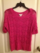 CANDIES JR PINK SWEATER - SIZE S
