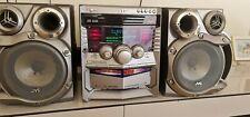 New listing Vintage Jvc Stereo System Ca-Mxga77 Compact Bookshelf + G-Max Speakers Tested