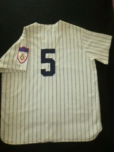 AUTHENTIC JOE Di MAGGIO N.Y. YANKEES VINTAGE  HOME JERSEY M&N 1951 PATCH  48 XL