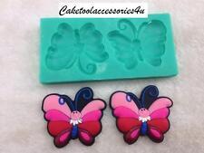 2 Papillon Moule Silicone Fondant Spatule De Patisserie Figurien Pour Gâteau