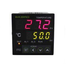 Digital Temperature Controller Itc-100Vh 110v Pid 40a Ssr K Sensor Heatsink Brew
