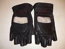 Harley Davidson Mens Small Leather Gloves Revolution Fingerless