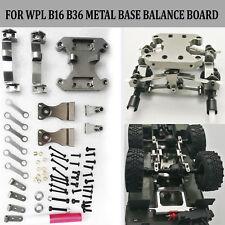 DIY Metal Base Balance Board Kit Upgrade Part For 1/16 WPL B16 B36 6WD RC Car