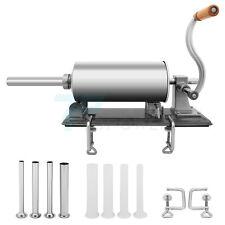 Meat Filler Maker Sausage Stuffer 3l Stuffing Machine 8tubes Commercial Homemade
