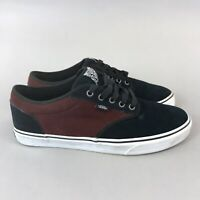 VANS Lace Up Suede Trainers Skate Sneakers Shoes Size US11 UK10