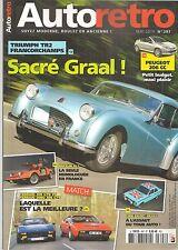 AUTO RETRO 397 TR2 COUPE FERRARI 308 GTB 308 GT4 BRICKLIN SV-1 ESCORT MEXICO