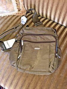 NEW Baggallini Crossbody Bag - Messenger Bag Classic collection Hidden Pockets