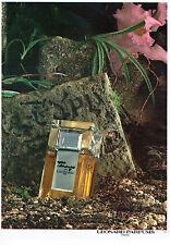 Publicité Advertising  068  1983    parfum  Tamango par Leonard